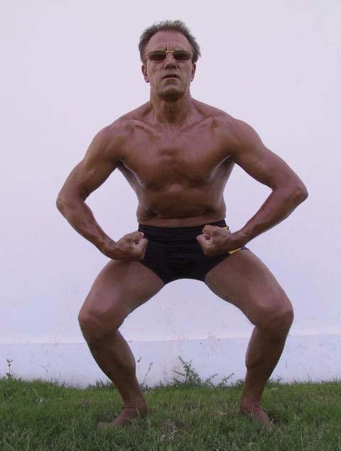... van Niek Lauwers, de officiele Arnold Scwarzenegger Look-Alike Arnold Schwarzenegger